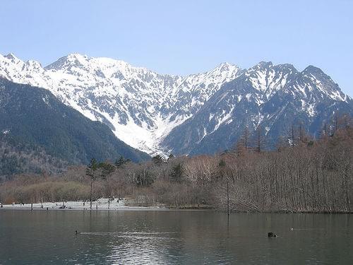 Spring at Kamikochi.