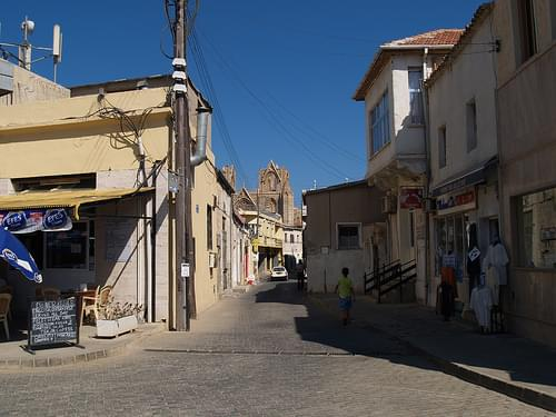 Street in The Old Town Famagusta