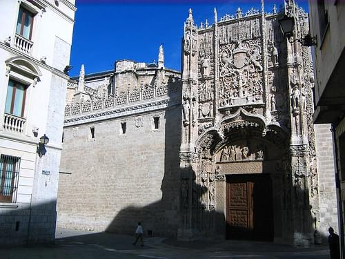 Facade of the Colegio de San Gregorio