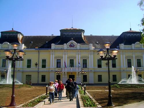 House of bishop in Vrsac