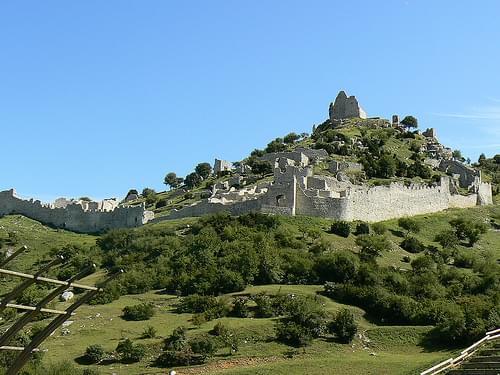 château de Crussol - Ardèche