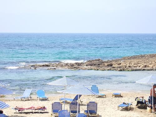 Bucht bei Malia auf Kreta