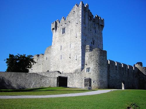 Ross Castle, Killarney National Park, Kerry, Ireland.