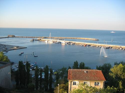 the Constanta Peer (Tomis)