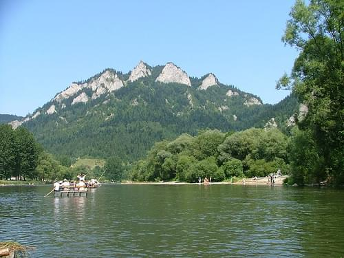 Rafting on Dunajec River - Pieniny Mountains, Poland