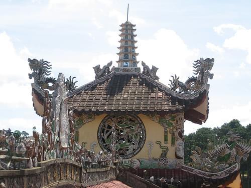 Linh Phuoc Pagoda, Dalat