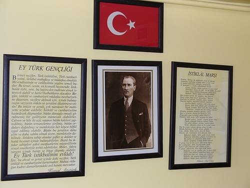 Atatürk schoolroom