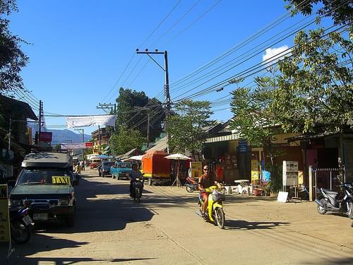 Pai Street Scene 1