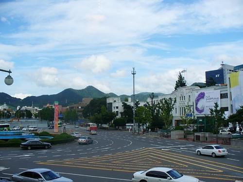 downtown gwangju