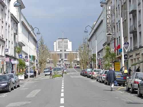 Brest rue de Siam en 2006