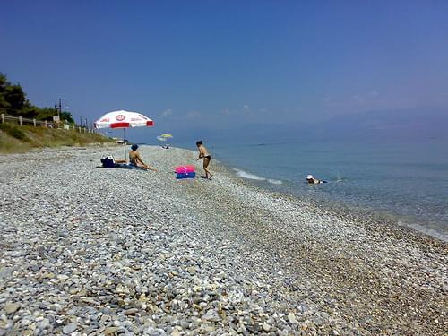 Beach Near Derveni