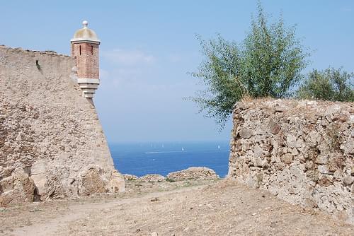 backside of the Citadelle, St. Tropez