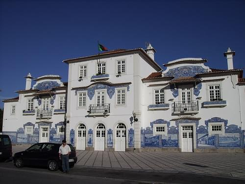 Old station of Aveiro