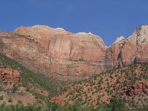 Zion-Mount Carmel Highway, Zion National Park, Utah
