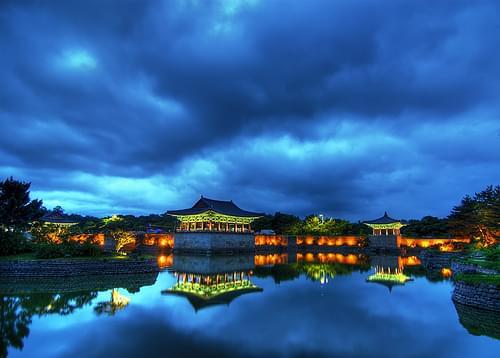 Anapji Pond, Korea