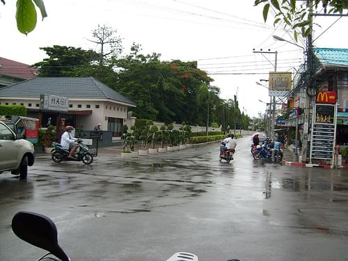 Hua Hin on a rainy day