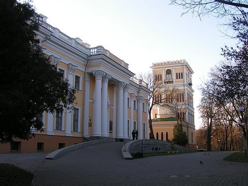 Парадный вход во дворец