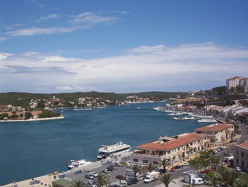 Mahon harbour Menorca