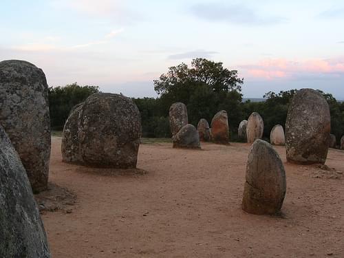 Cromlech dos Almendres, Portugal