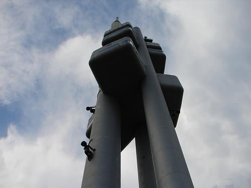 The Zizkov Television Tower