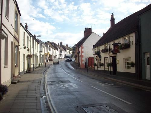 Brading street scene