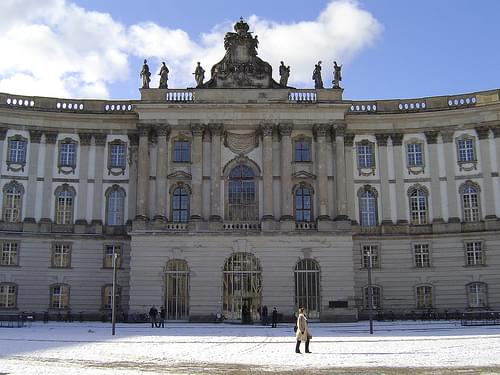 Alte bibliothek (Forum Fridericianum - Berlin)
