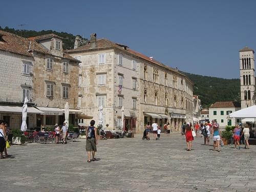 The Square Of Hvar