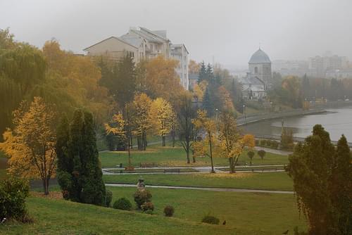 der Herbst in Ternopil