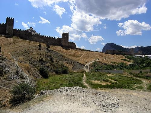 Crimea / Sudak / Genoese fortress