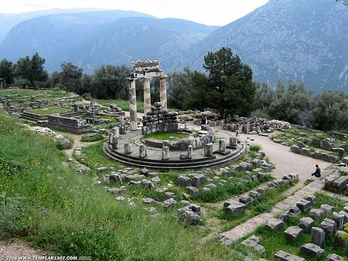 GR06 1861 Athena Pronaia Sanctuary at Delphi