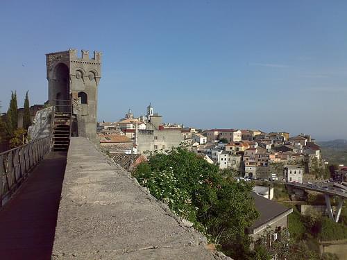 Veduta di Catanzaro dal Complesso Monumentale S.Giovanni