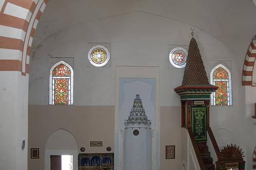 Interiors of Eupatorian mosque (2006-08-296)