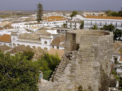 The castle of Tavira