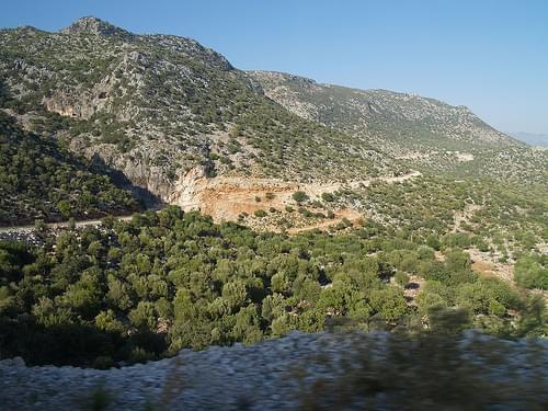Road to Kekova