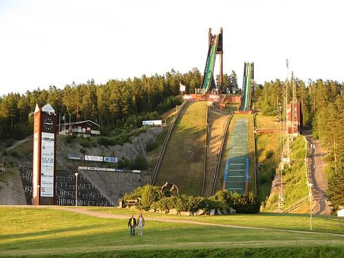 Lugnet Ski-Jump