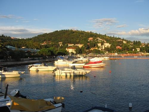 The marina in Portoroz