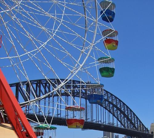 Luna Park Ferris Wheel - #1968
