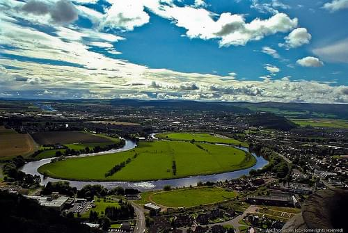 View from The National Wallace Monument