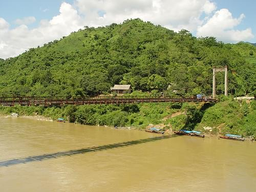 Bridge near Bac Ha