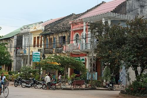Kampot Storefronts