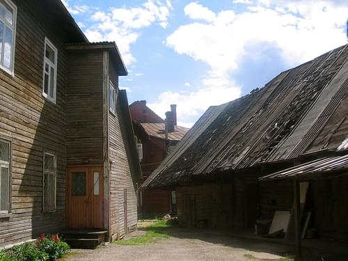 Old Houses in Võru