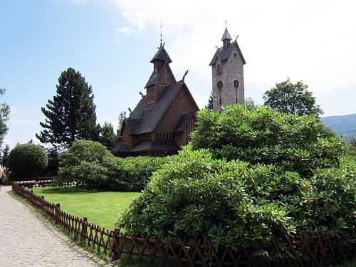 Temple Wang Karpacz Poland
