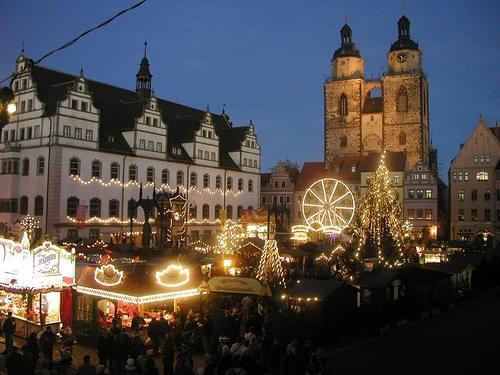 Weihnachtsmarkt, Stuttgart, Germany