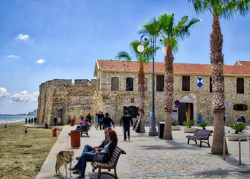 A castle in Larnaca