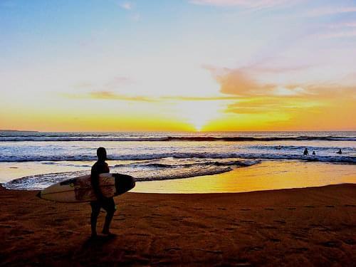 Sunset Legian Beach, Bali