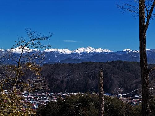 Early spring of The Japan Alps Yari-Hodaka Mountain Range : 早春の北アルプス槍・穂高連峰