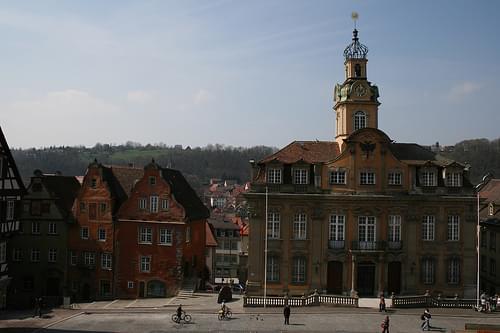 Town hall in Schwäbisch Hall