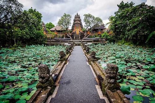 Saraswati temple, Bali