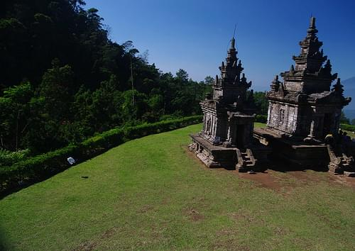 Temple at Gedong Songo