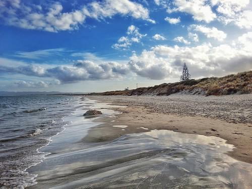 Ruakaka beach. Northland, New Zealand.  #ruakaka #northland #newzealand #seascape #landscape #android #snapseed  #samsung #i9300 #cynogenmod